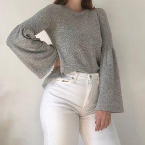 🍊2/$35🍊 ZARA Peblum Sleeved Sweater